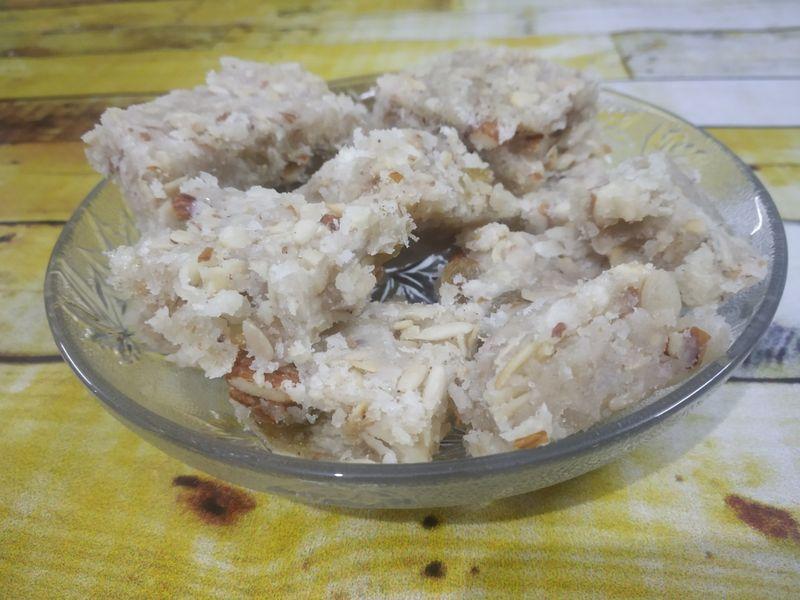 Dry Fruit Barfi Panchmeva Paag