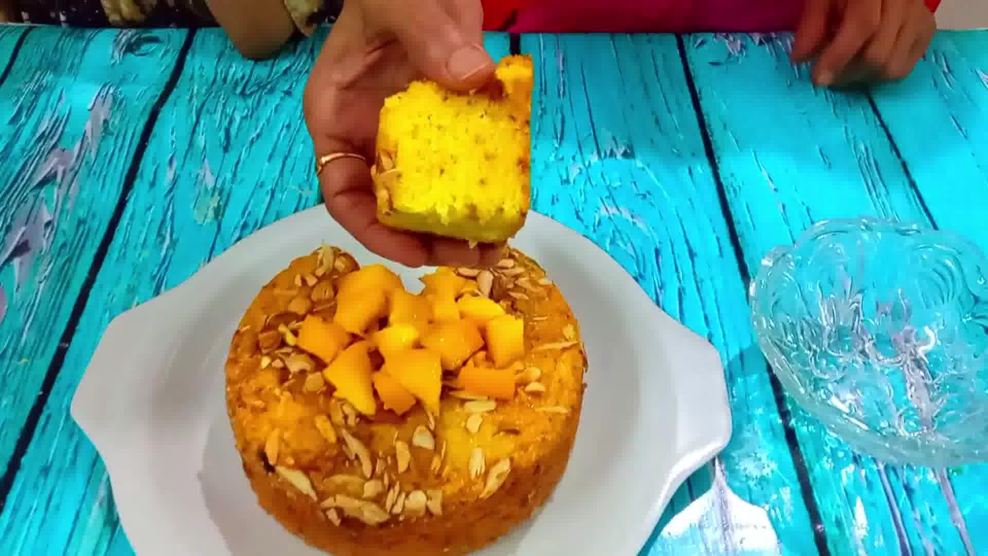 Image of Mango Semolina Cake