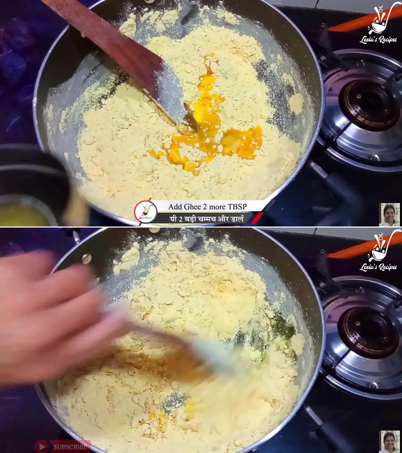 Image of the cooking step-1-2 for Besan Ke Ladoo