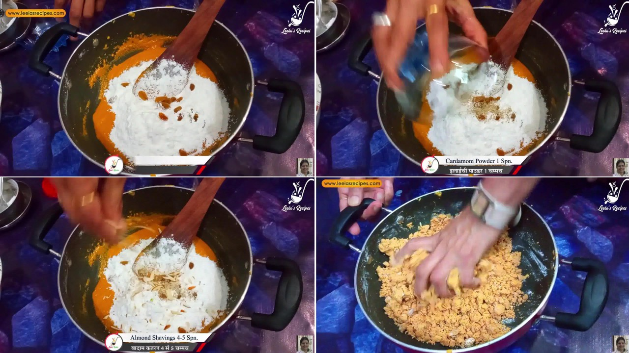 Image of the cooking step-1-6 for Besan Ke Ladoo