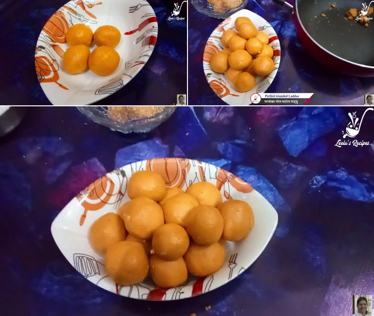 Image of the cooking step-1-8 for Besan Ke Ladoo