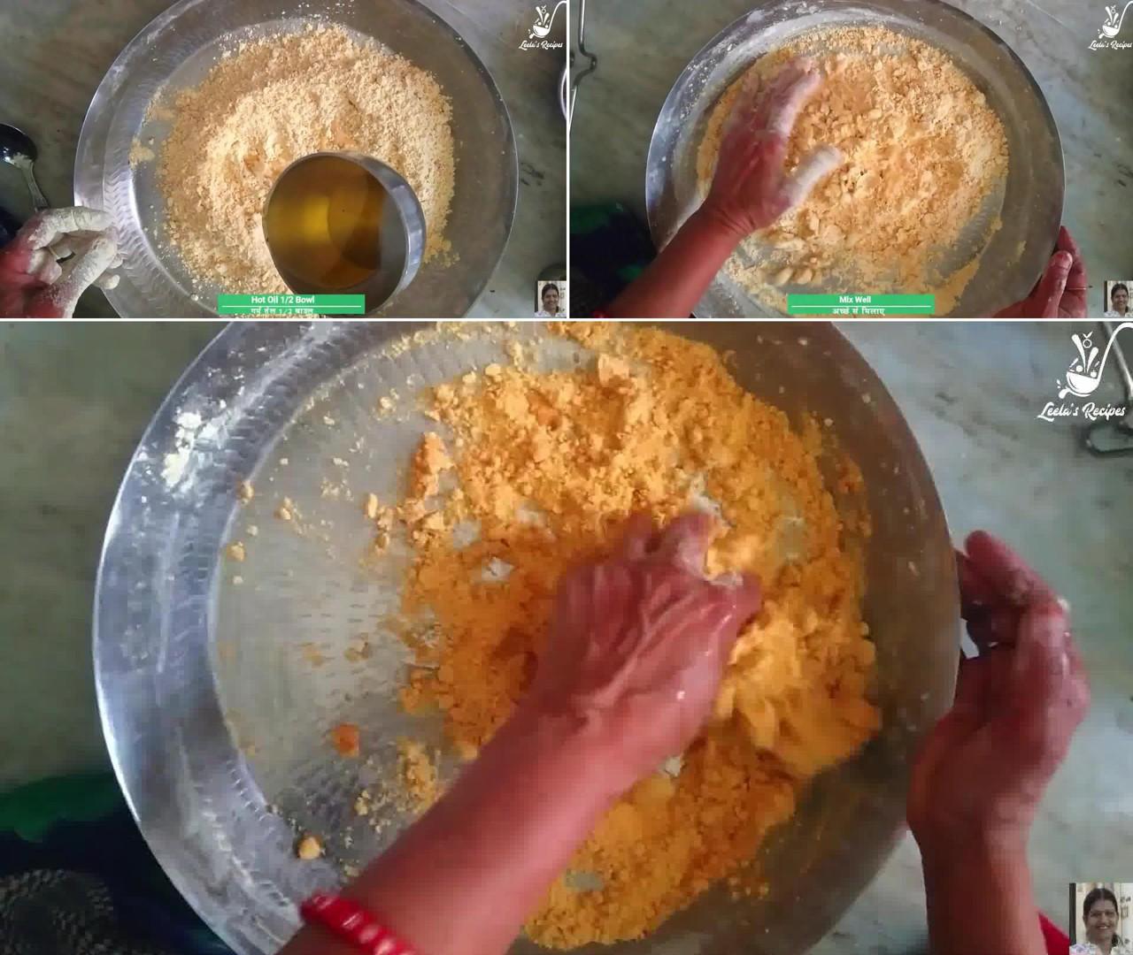 Image of the cooking step-1-2 for Besan Ki Sev Namkeen