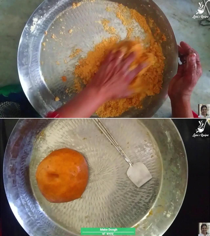 Image of the cooking step-1-3 for Besan Ki Sev Namkeen