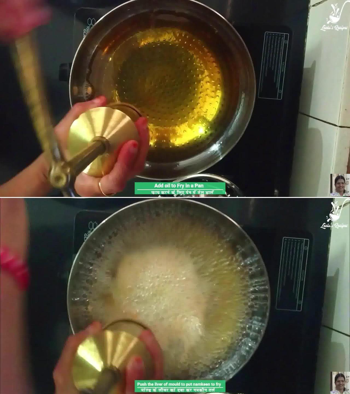 Image of the cooking step-1-6 for Besan Ki Sev Namkeen