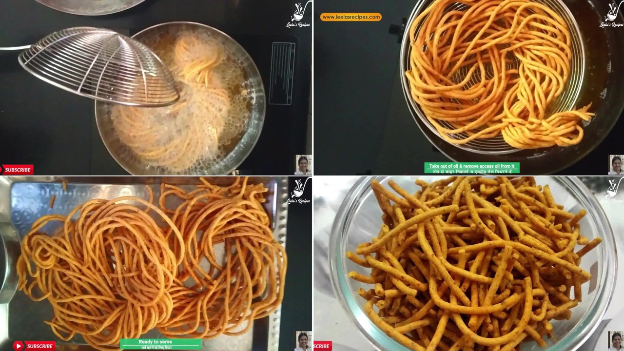 Image of the cooking step-1-8 for Besan Ki Sev Namkeen