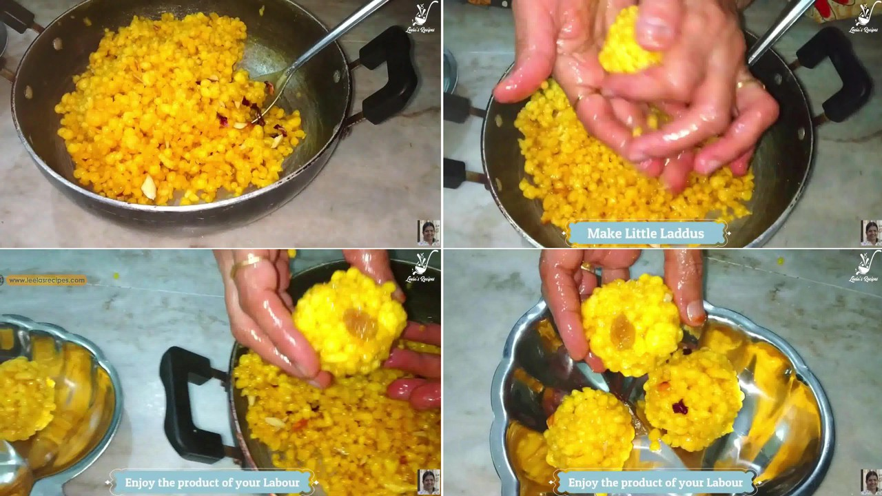 Image of the cooking step-1-12 for Boondi Ladoo