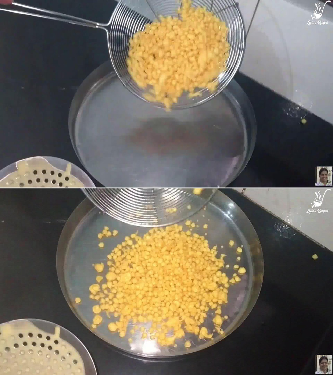 Image of the cooking step-1-7 for Boondi Ladoo