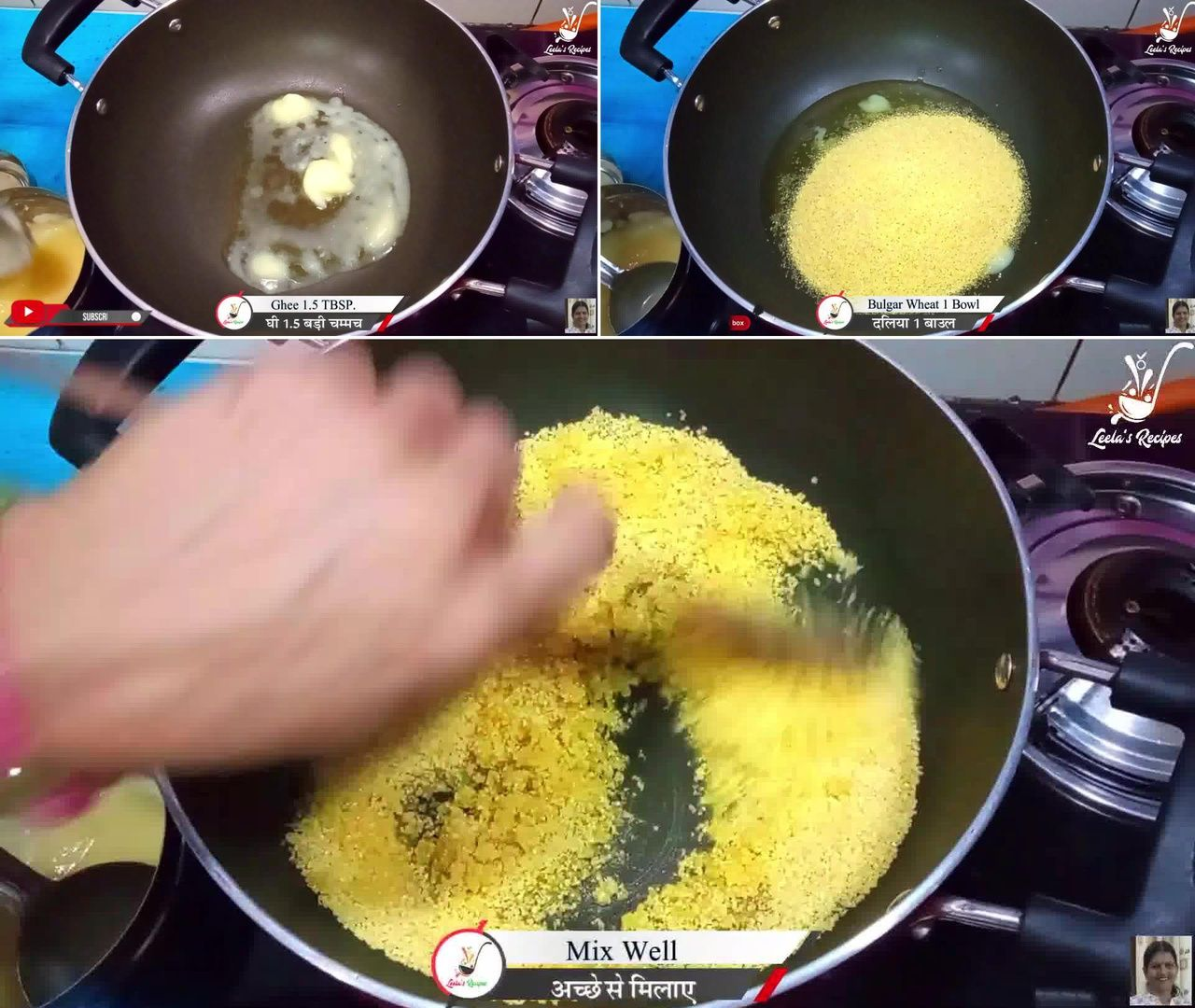 Image of the cooking step-1-1 for Lapsi (Traditional Homemade Sweet of Rajasthan)