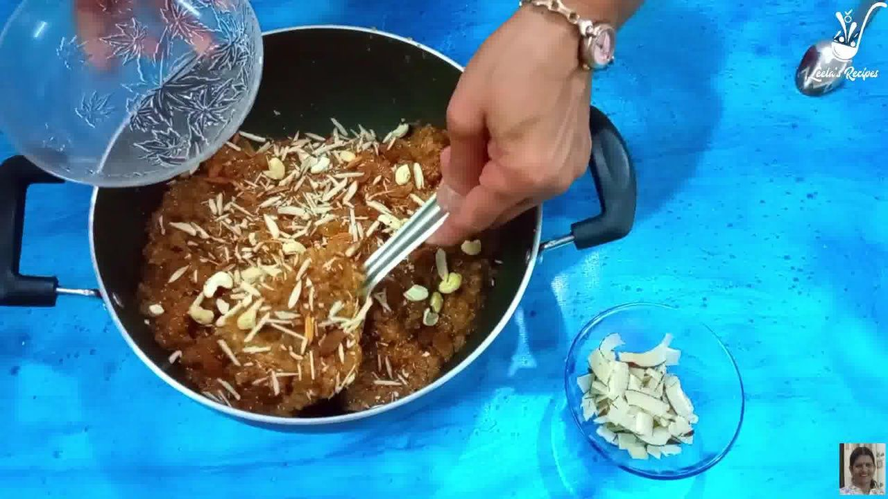 Image of the cooking step-1-12 for Lapsi (Traditional Homemade Sweet of Rajasthan)