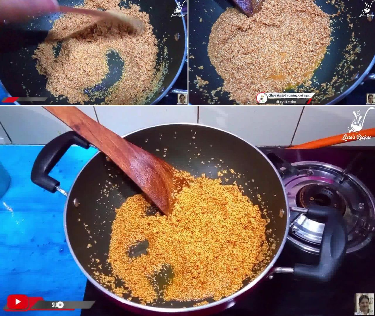 Image of the cooking step-1-4 for Lapsi (Traditional Homemade Sweet of Rajasthan)
