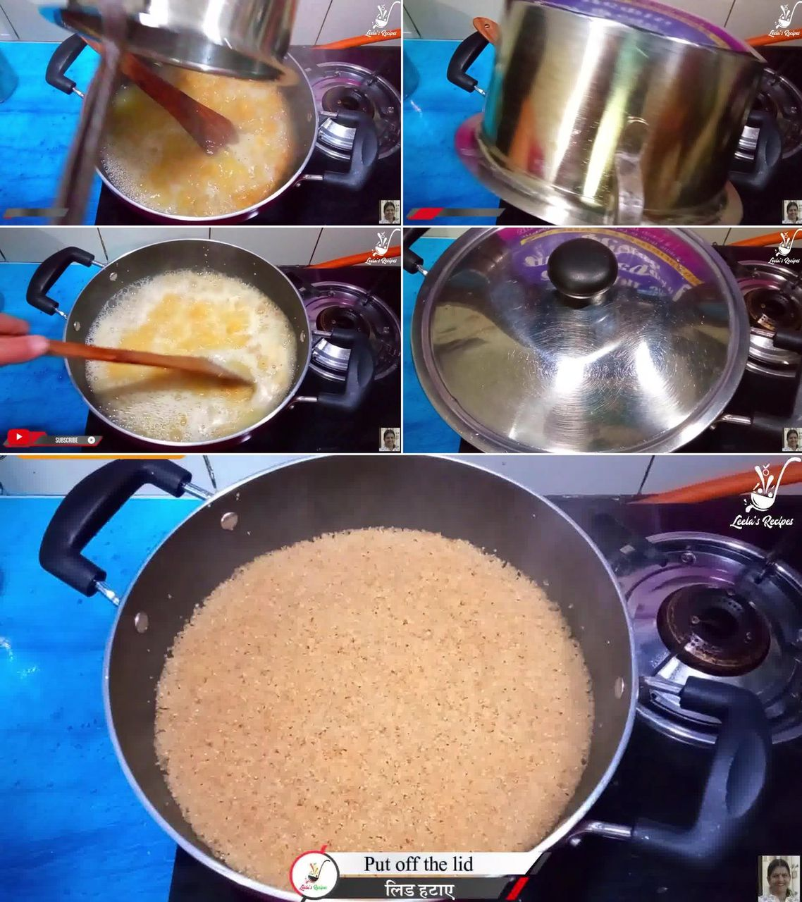Image of the cooking step-1-7 for Lapsi (Traditional Homemade Sweet of Rajasthan)