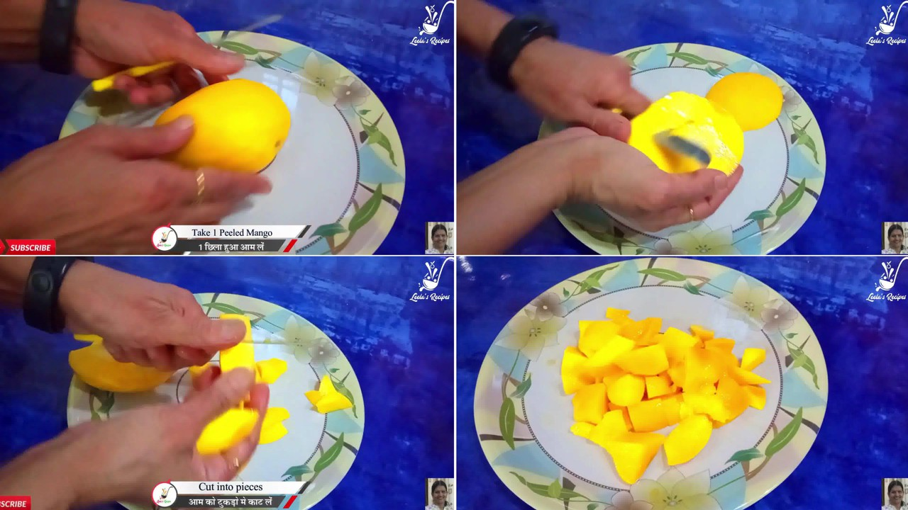 Image of the cooking step-1-1 for Mango Peda