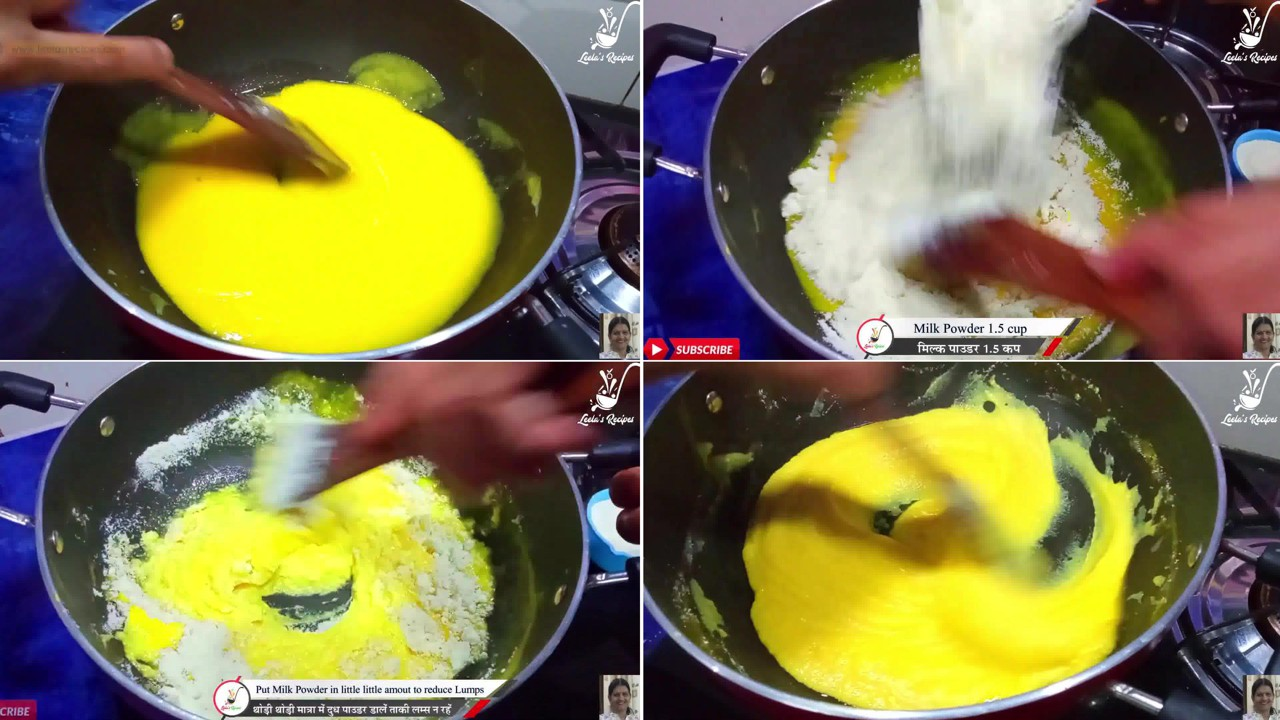 Image of the cooking step-1-4 for Mango Peda