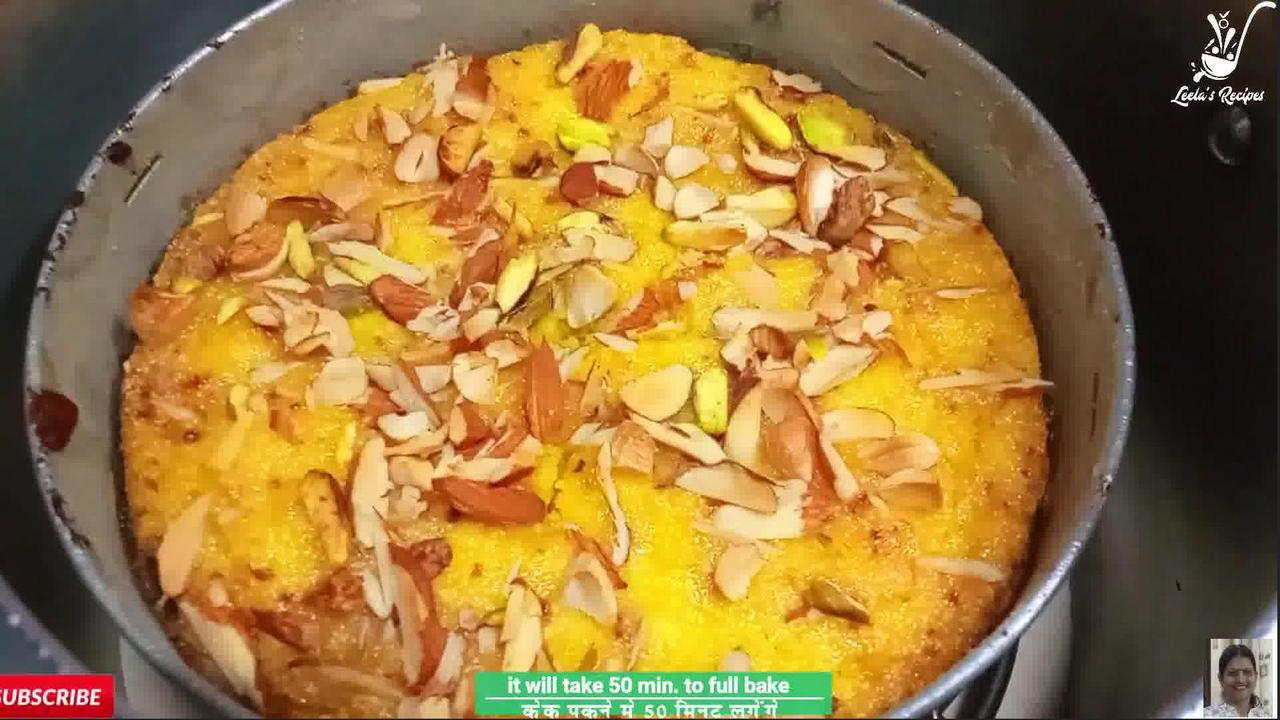 Image of the cooking step-1-12 for Mango Semolina Cake (Without Oven)