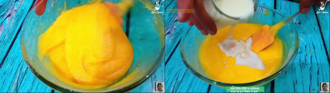 Image of the cooking step-1-5 for Mango Semolina Cake (Without Oven)