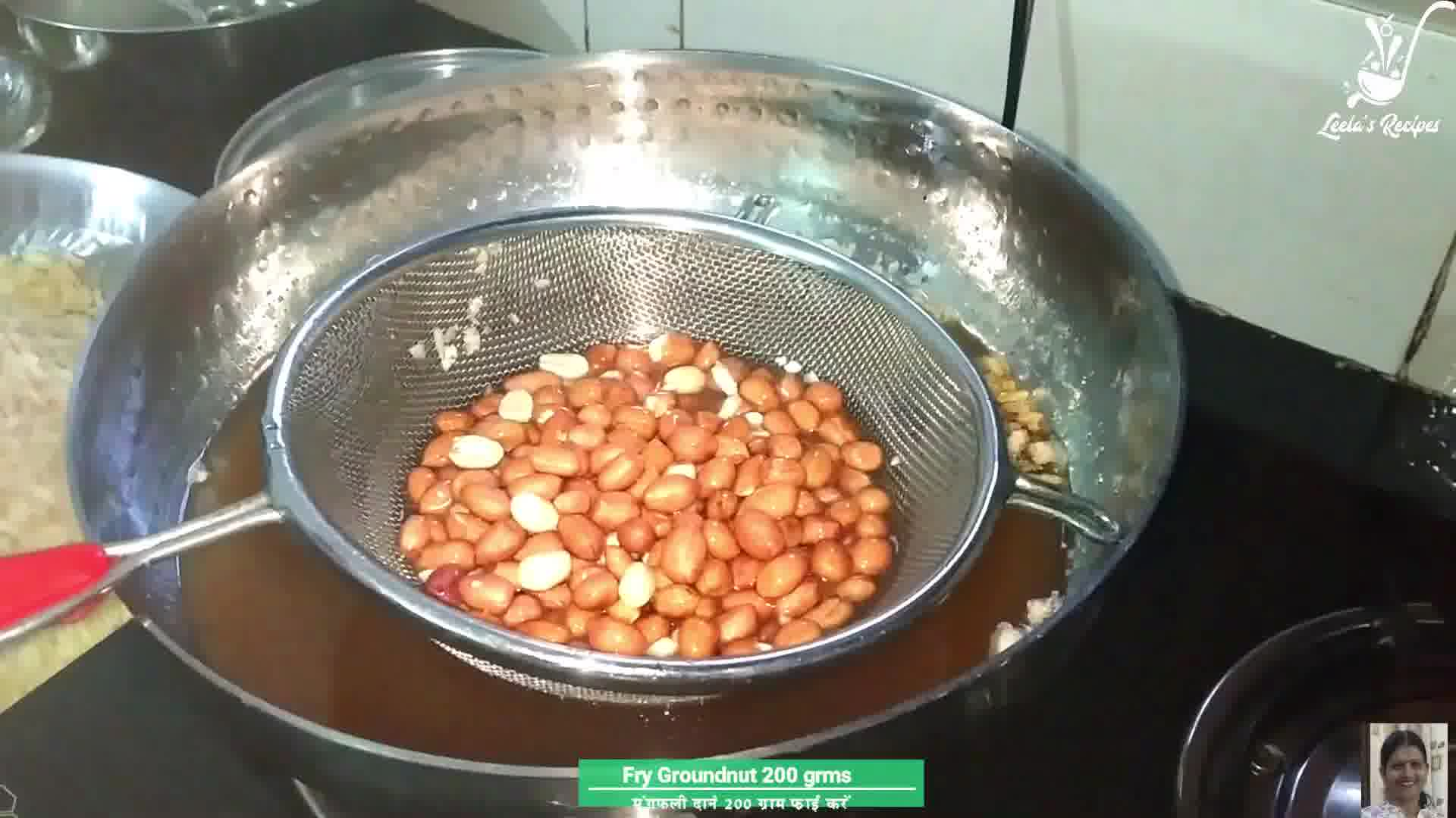 Image of the cooking step-1-3 for Poha Chivda