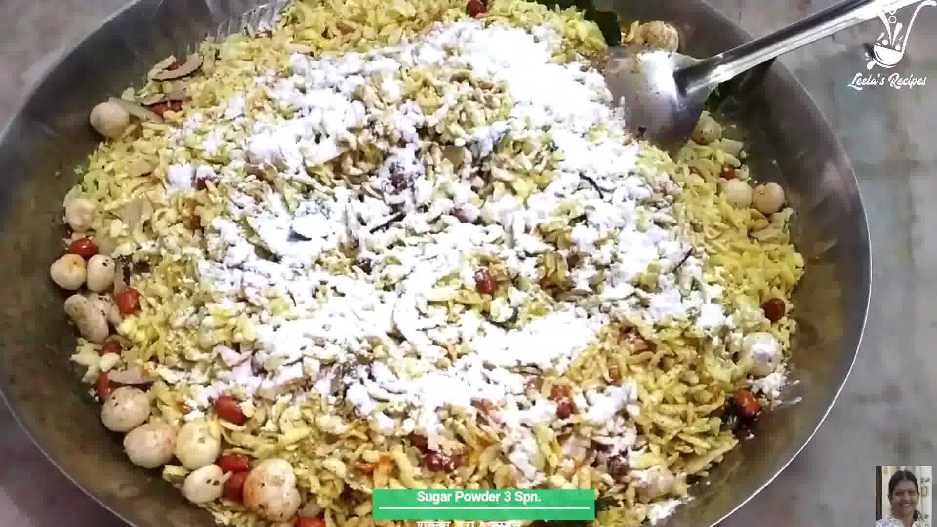 Image of the cooking step-1-7 for Poha Chivda