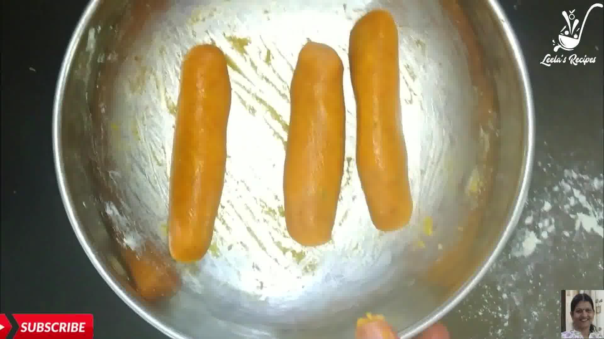 Image of the cooking step-1-2 for Rajasthani Besan Gatte Ki Sabzi