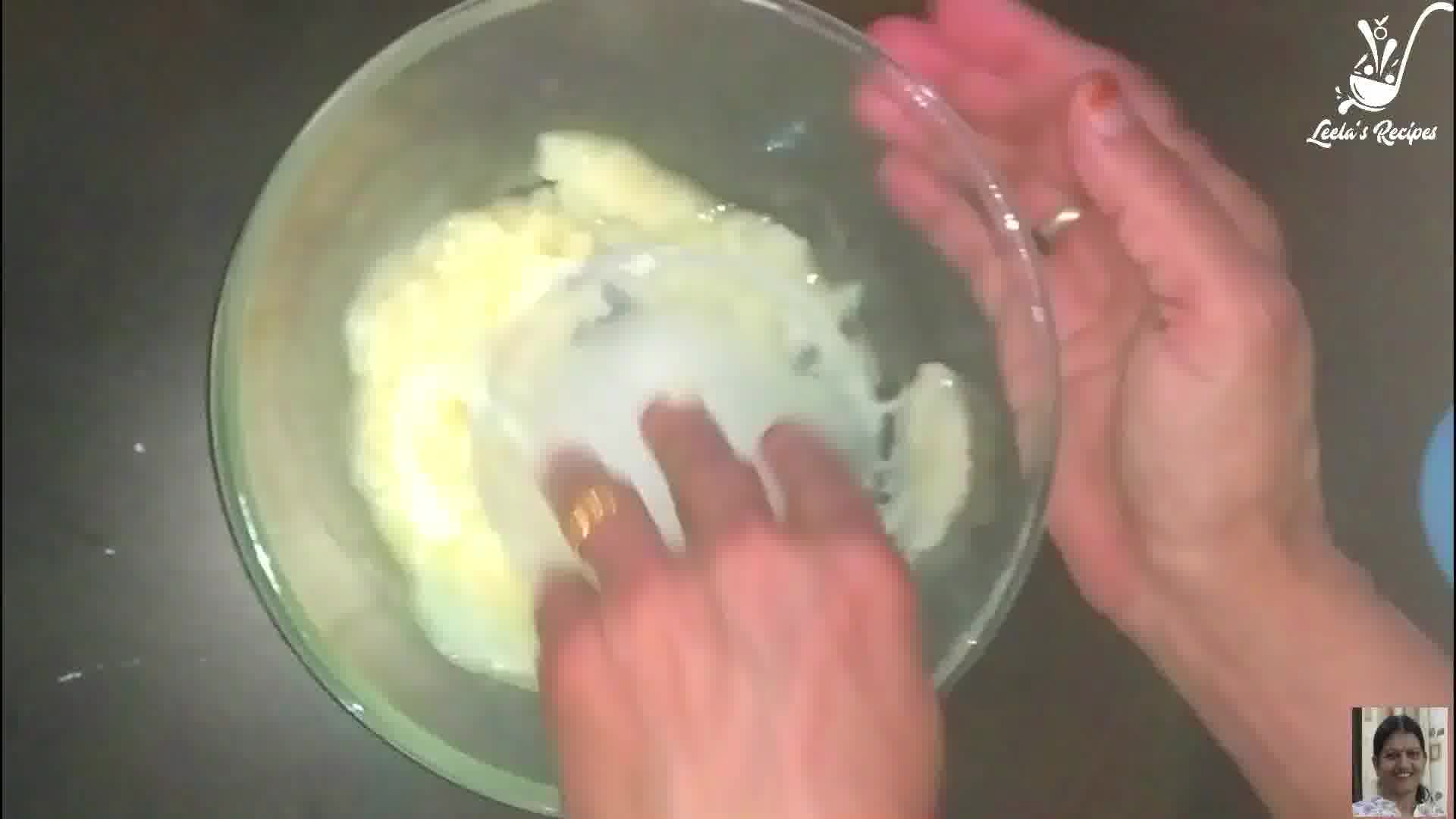 Image of the cooking step-1-2 for Rajasthani Ghevar