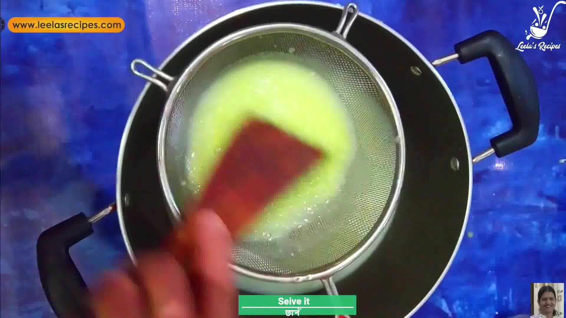 Image of the cooking step-1-3 for Raw Mango Jelly (Sweet and Sour)