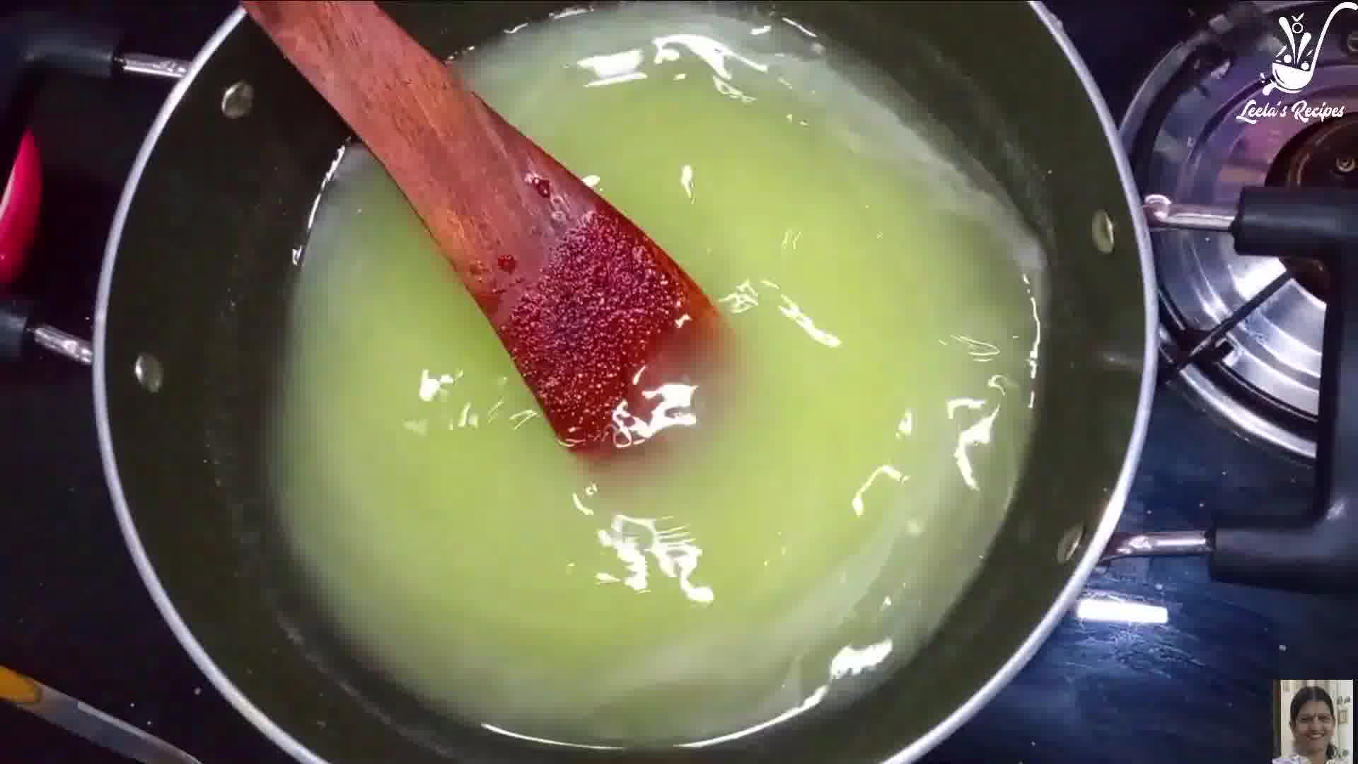 Image of the cooking step-1-6 for Raw Mango Jelly (Sweet and Sour)