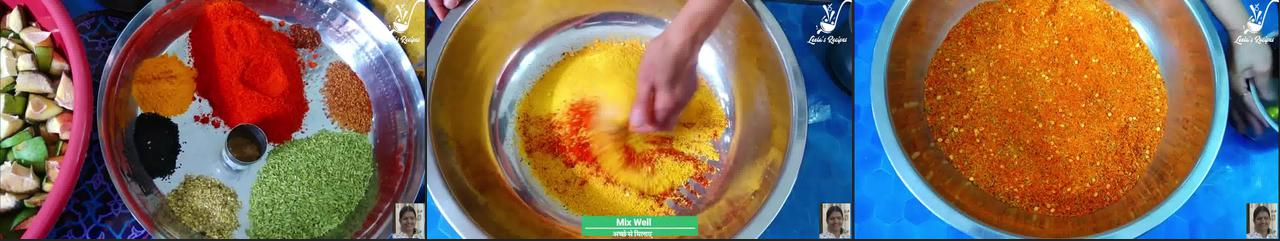 Image of the cooking step-1-2 for Raw Mango Pickle (Aam Ka Achaar)