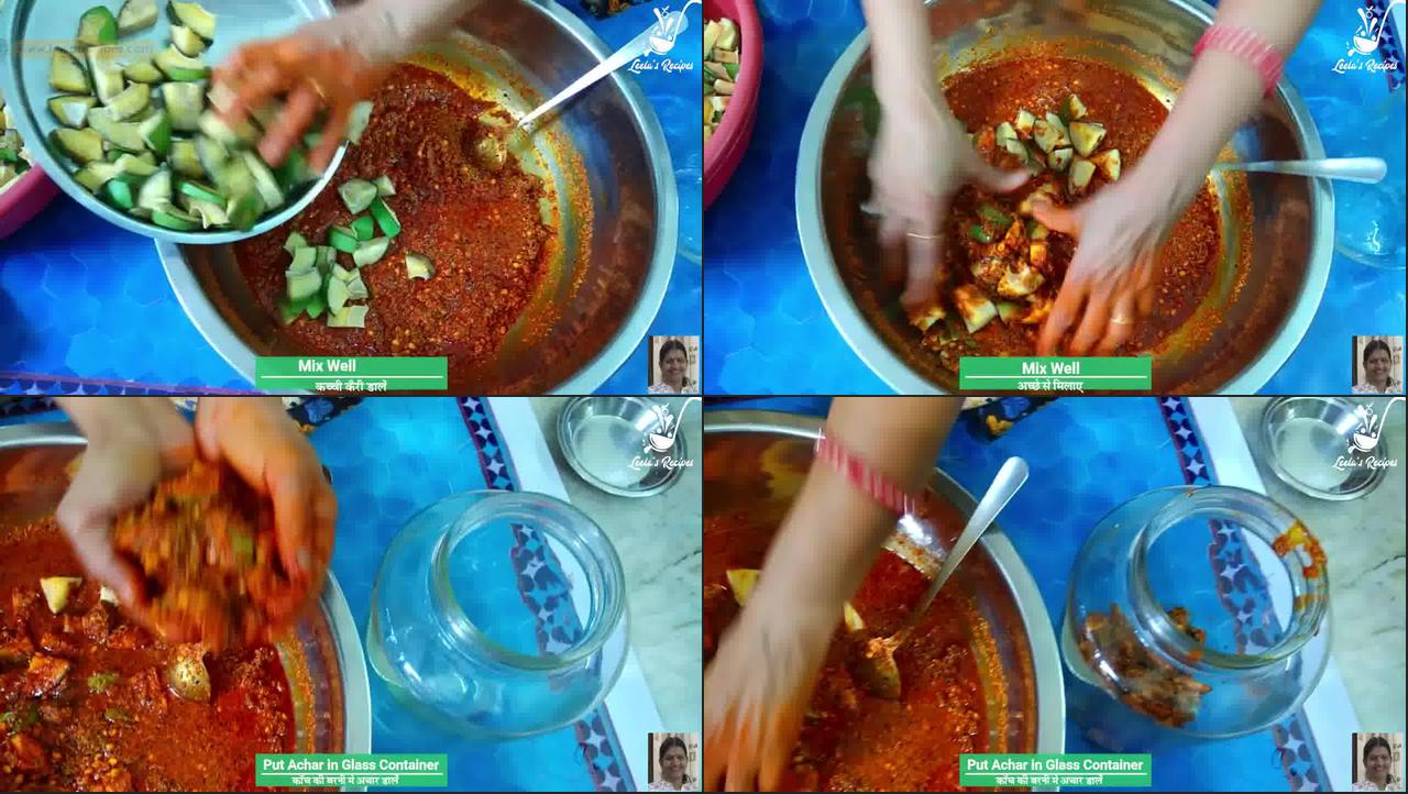 Image of the cooking step-1-5 for Raw Mango Pickle (Aam Ka Achaar)