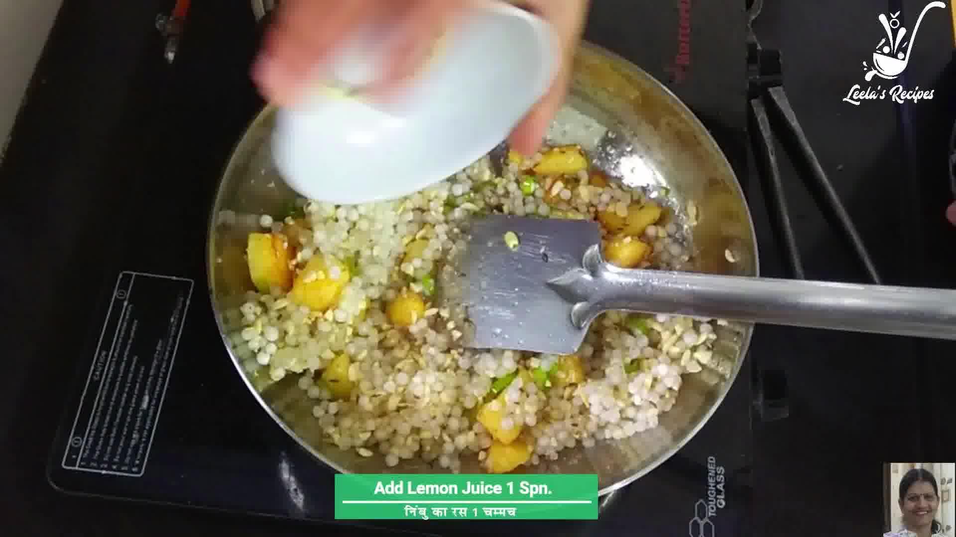 Image of the cooking step-1-7 for Sabudana Khichdi
