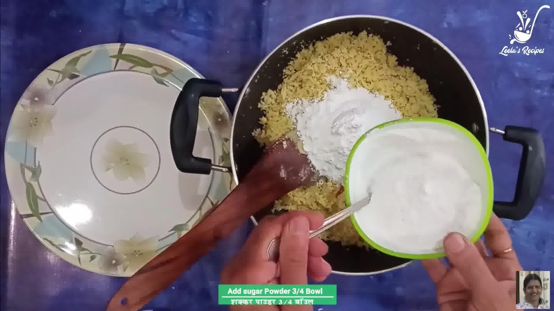 Image of the cooking step-1-6 for Semolina Milk Cream Laddu (Suji Malai Ladoo)